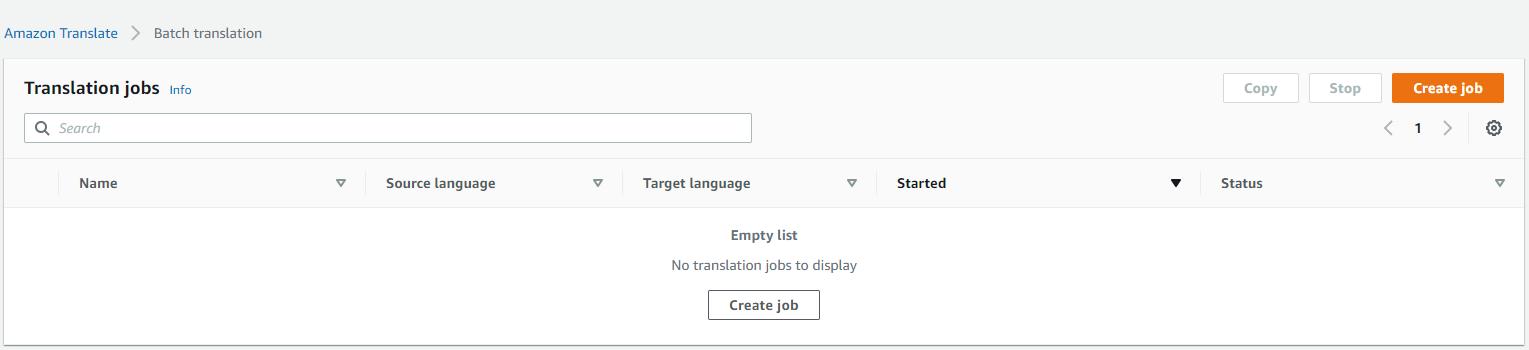 【AWS征文】利用无服务架构 Lambda + Amazon Translate 实时翻译文档